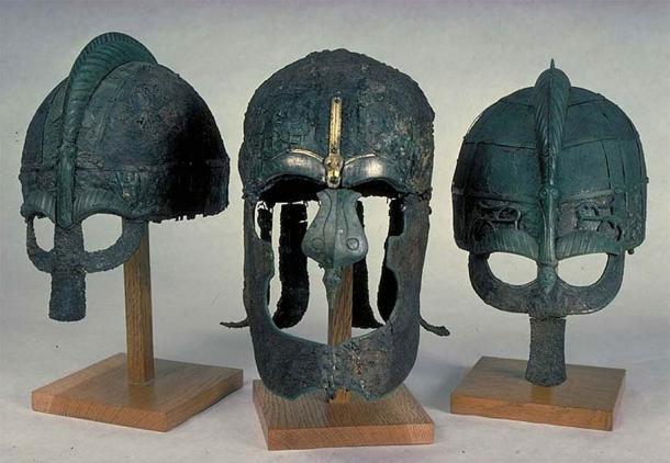 Los cascos Vendel estaban hechos de hierro y se han descubierto en varios cementerios del período Vendel. (Museo Statens Historiska / CC BY 2.5)