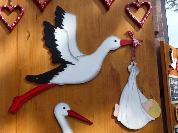 Una decoración tradicional en una casa en la región franco-alemana de Alsacia. (Elekes Andor / CC BY-SA 4.0)