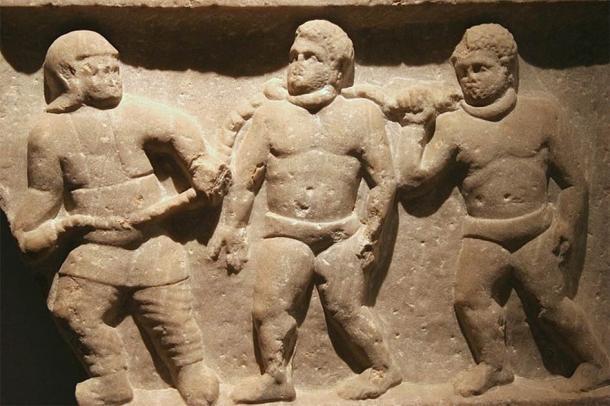 La esclavitud era una parte importante de la economía romana. (Museo Ashmolean / CC BY-SA 2.0)