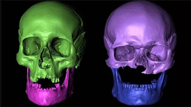 Los nuevos resultados concluyen que los restos descubiertos casi todos pertenecen a la misma familia. (Universidad de Bradford)
