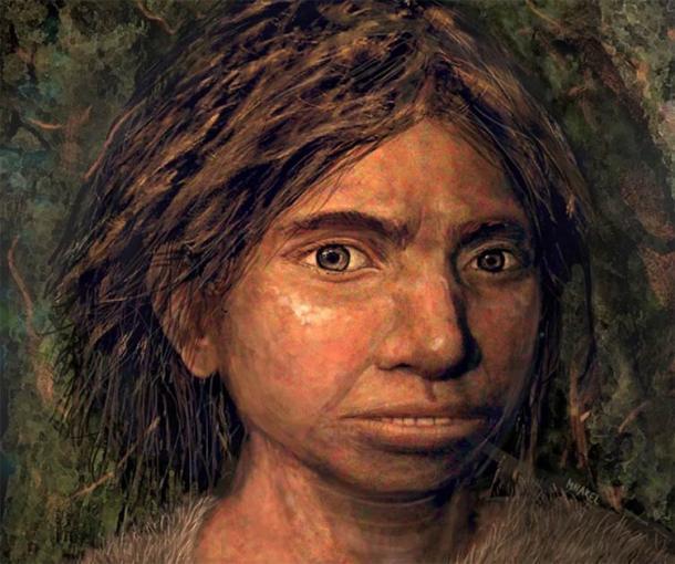 En septiembre de 2019, los científicos utilizaron la epigenética para determinar la posible composición física de un rostro denisovano. Su reconstrucción ganó el premio People's Choice de la revista Science a Avance del año. (Maayan Harel)