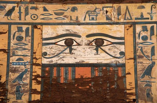 Detalle de la tumba antigua bajo investigación. (Patricia Mora / Proyecto Qubbet-el Hawa)