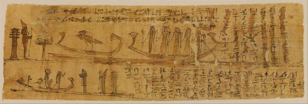 Papiro del Libro de los Muertos que cubre los capítulos 100-129. (Museo Metropolitano de Arte / CC0)