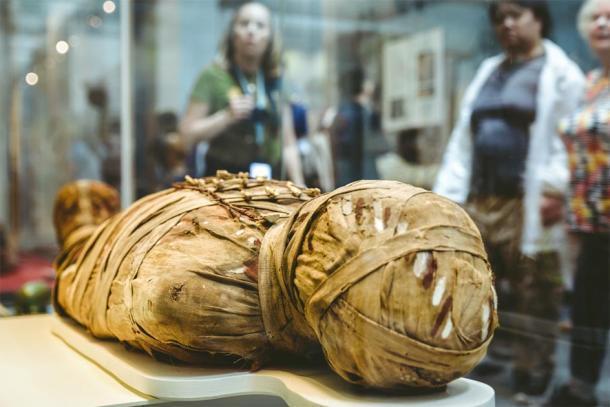 Momia egipcia antigua. (Jaroslav Moravcik / Adobe)