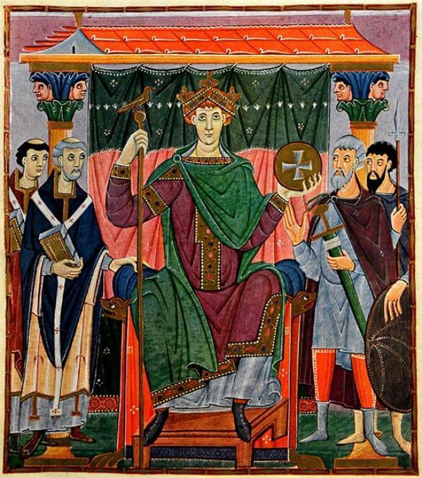 Otto el Grande aplastó la rebelión eslava liderada por el gobernante Obodrite Nakon en 955 en la Batalla del río Raxa, lo que los obligó a adoptar el cristianismo. (Dominio público)