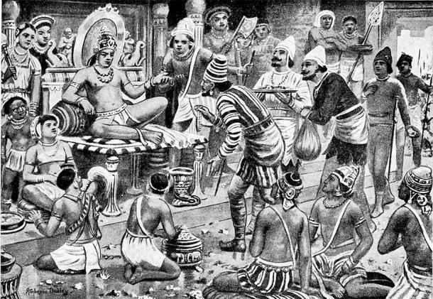 Pulakesi II continuó las políticas expansionistas de los Chalukyas e incluso derrotó a Harsha en la batalla. (Dominio público)