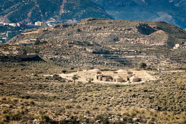 Vista del yacimiento arqueológico de los Millares en Almería, España. (Azul Lux / Adobe Stock)