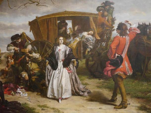 """""""Claude Duval"""" (1859), de Powell Frith en la Galería de arte de Manchester. (CC BY 2.0)"""