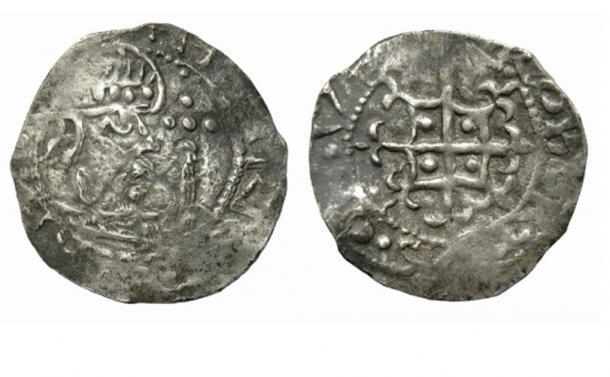 Penique de plata Henry of Anjou de John Denham. (Hansons Auctioneers)