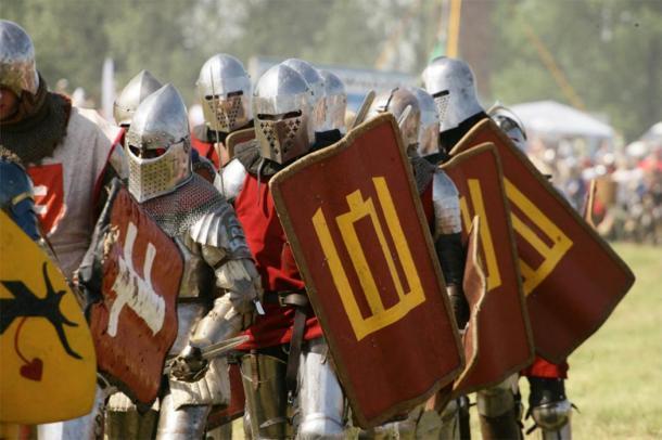 Representación de soldados medievales lituanos en una recreación. (kam.lt)