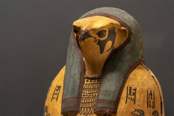 Una representación de madera de Horus. (Andrea Izzotti / Adobe Stock)