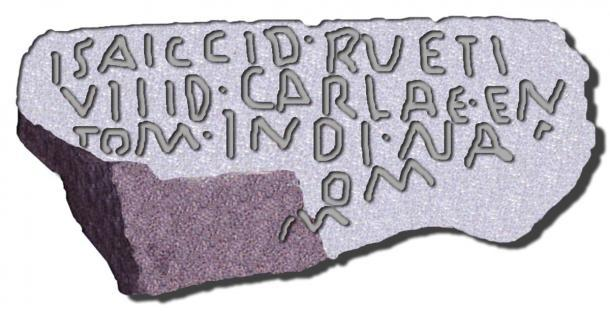 La escritura lusitana. (Dominio público)