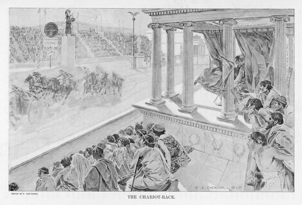 Una carrera de carros olímpicos en BC Grecia. (Archivista / Adobe Stock)