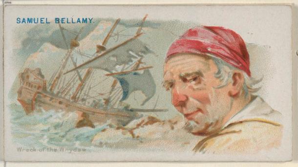 Black Bellamy fue un pirata famoso y también el pirata más rico de todos los tiempos. (Allen y Ginter / CC0)