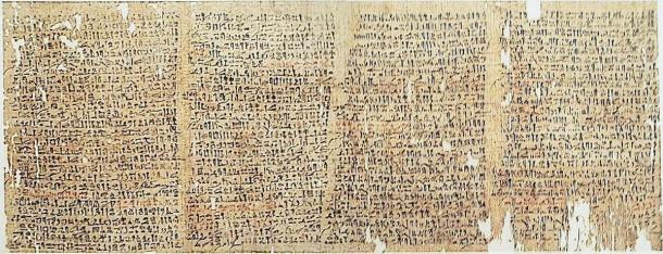 X Papiro de Westcar - Cuentos de magos similares a las historias de Éxodo. (Fotowerkstatt / CC BY SA 2.5)