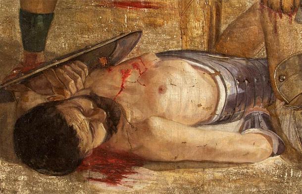 Flamma eligió la muerte en la arena antes que la libertad. ¿Pero por qué? (Dominio público)