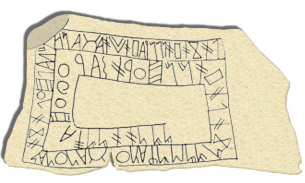 La escritura tartésica. (Papix / Dominio público)