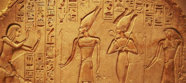 Tallas jeroglíficas egipcias antiguas. (mikolajn/ Adobe stock)