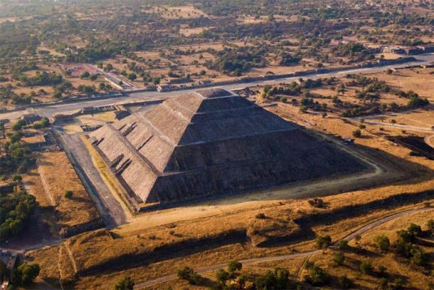 Pirámide del Sol en Teotihuacán. (RM Nunes / Adobe Stock)