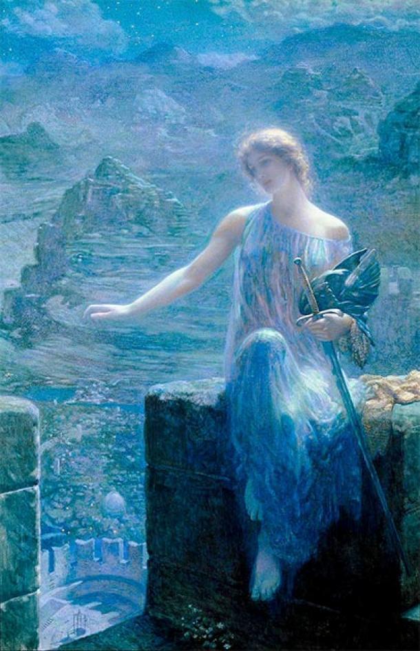Las valquirias, las hijas de Odin, adquirieron un nuevo aspecto más suave. (Austriacus / Dominio público)