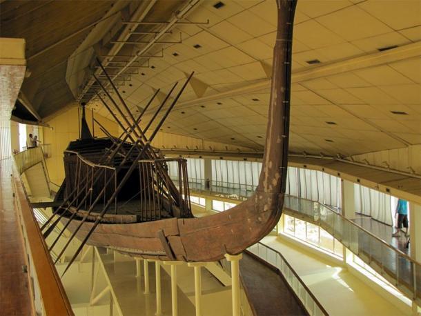 El magnífico Barco de Khufu, Museo del Barco Solar, Giza, Egipto. (David Berkowitz / CC BY 2.0)