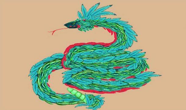 Quetzalcóatl, la serpiente emplumada. (Kazakova Maryia / Adobe Stock)