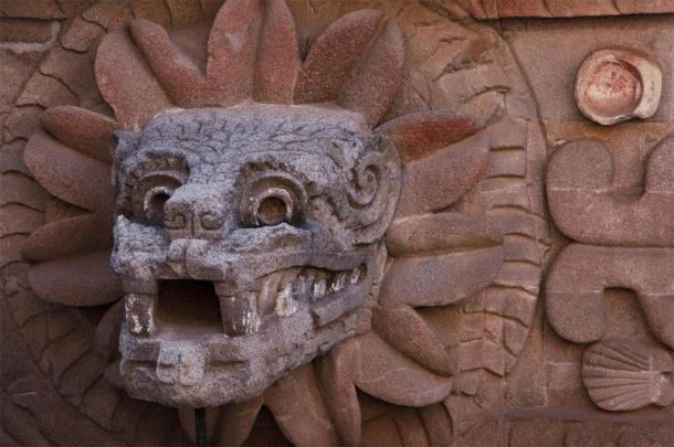 Cabecera de Quetzalcóatl en Teotihuacán. (Josue / Adobe Stock)