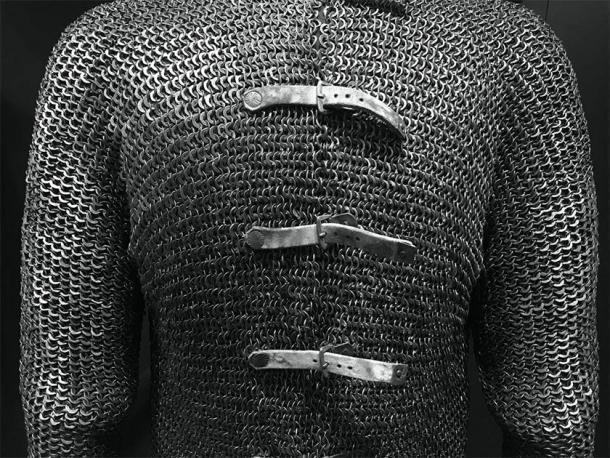 Ejemplo de armadura de cota de malla del Museo de Arte de Cleveland, Cleveland, EE. UU. (Roy suerte / CC BY 2.0)