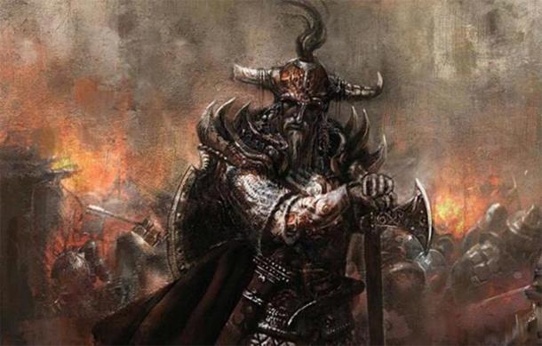 Imagen representativa de un rey vikingo. (Muratgul / Deviant Art)