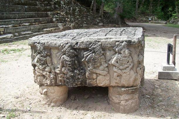 Altar Q en el Templo de Rosalila. (Simon Burchell / CC BY-SA 2.0)