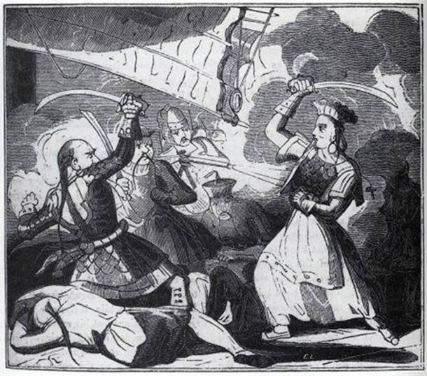 También conocida como Madame Cheng, Ching Shih gobernó el Mar de China Meridional en su día. (Dominio público)