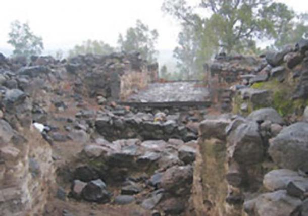 Imagen de baja calidad de la Puerta de la Ciudad de Bethsaida que fue descubierta en excavaciones el año pasado. Fuente: Stephen G. Rosenberg