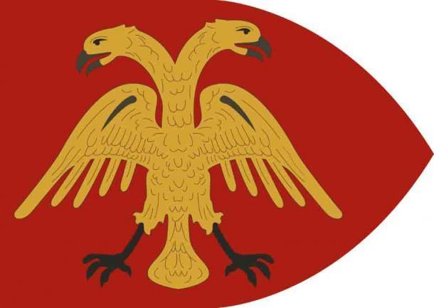El escudo de armas del Imperio de Trebisonda. (Samhanin / CC BY 3.0)