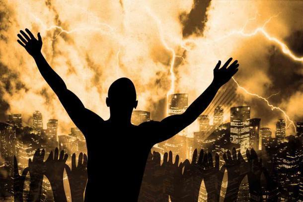 El Anticristo sigue viviendo en nuestra imaginación gracias a las películas y los libros modernos. (Benjamin Haas / Adobe Stock)