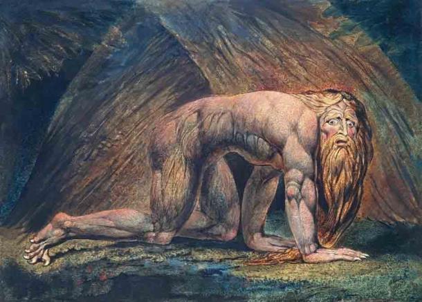 'Nabucodonosor' (c. 1795/1805) de William Blake. (Dominio público)