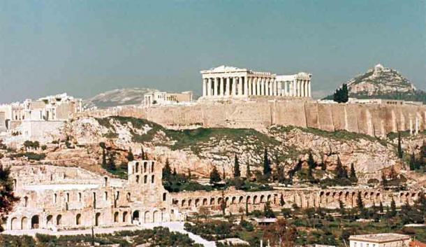 Peisistratus se convirtió en el Tirano de Atenas cuando capturó la Acrópolis de Atenas la primera vez y las dos siguientes. (Steve Swayne / CC BY-SA 2.0)