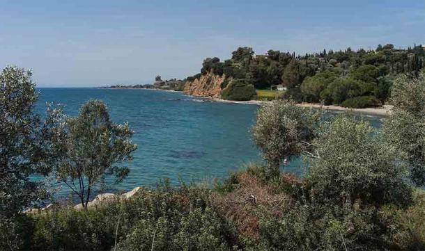 """Después de ser """"expulsado"""" de Atenas por segunda vez, Peisistratus se retiró a Eretria, en el sureste de Grecia, y durante 10 años planeó su regreso con sus hijos. (Jebulon / CC0)"""