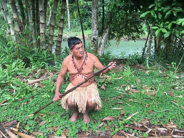 Instrumento de caza en Tena Amazonas. (Fionashek22 / CC BY-SA 4.0)