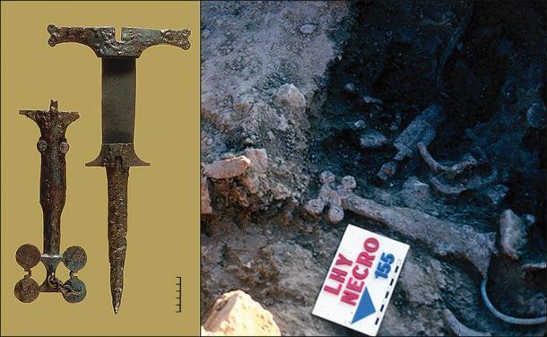 Artefactos de la Edad del Hierro recuperados del sitio de la masacre prehistórica española en La Hoya, España. (Antiquity Publications Ltd)