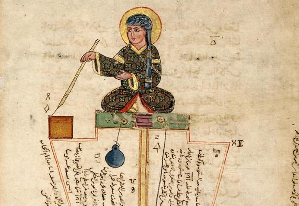 Si bien el genio de Ismail al-Jazari se pasa por alto hoy en día, Ismail al-Jazari fue un fascinante inventor musulmán medieval. Fuente: dominio público