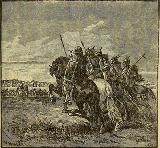 Los ostrogodos se dirigieron a Italia. (Imágenes de libros de Internet Archive / Dominio Publico)