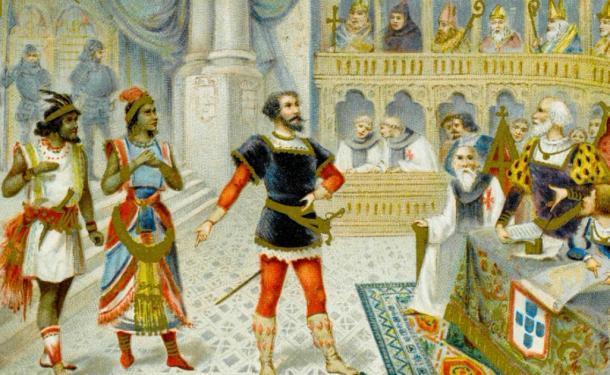 El viaje de Vasco da Gama conectó Europa y el Este. Fuente: Archivist / Adobe Stock.