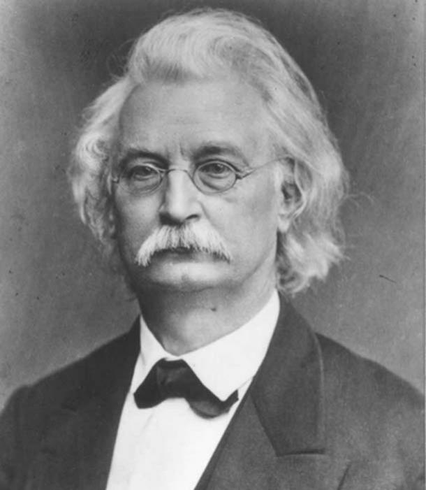 Karl Richard Lepsius, primer traductor de un manuscrito completo del Libro de los Muertos. (Andro96 ~ commonswiki / Dominio público)