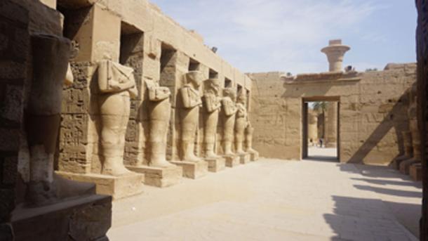 Complejo de templos de Karnak, sitio donde los oficiales egipcios dicen que la estatua del rey Tut fue tomada. (Elias Rovielo / CC BY-SA 2.0)
