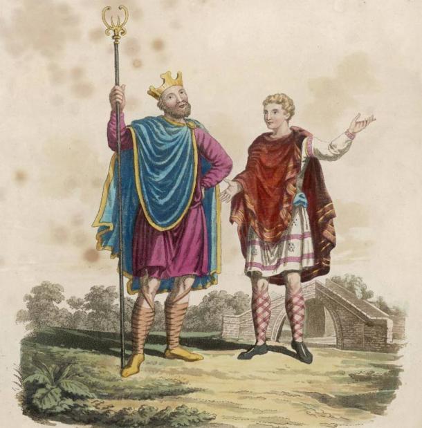 Rey Edgar I el Pacifico con página. (Archivero / Adobe Stock)