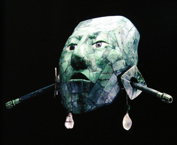 La máscara funeraria de K'inich 'Janahab' Pakal, fue uno de los más grandes señores de Palenque. (Arqueologia Mexicana/ Autor Suministrado)