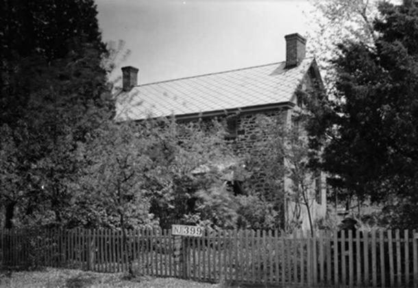 La casa de Japhet Leeds, Moss Mill Road, Leeds Point, Condado de Atlantic, NJ (c.1937). (Dominio publico )