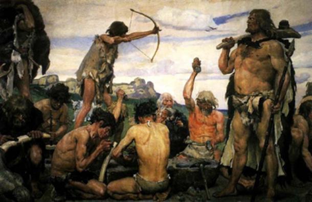 La Edad de Piedra provocó las primeras sociedades humanas. (Gugatchitchinadze / CC BY-SA 4.0)