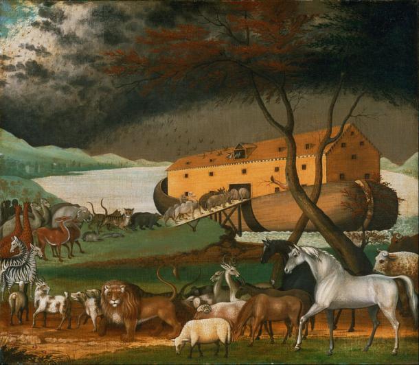 La historia bíblica del Arca de Noé. (DcoetzeeBot / Dominio publico)
