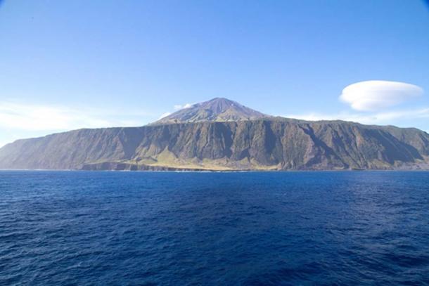 La increíble isla de Tristan De Acuña. Fuente: Grant Tiffen/ Adobe.